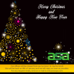Season's greetings and best wishes for 2018!!
