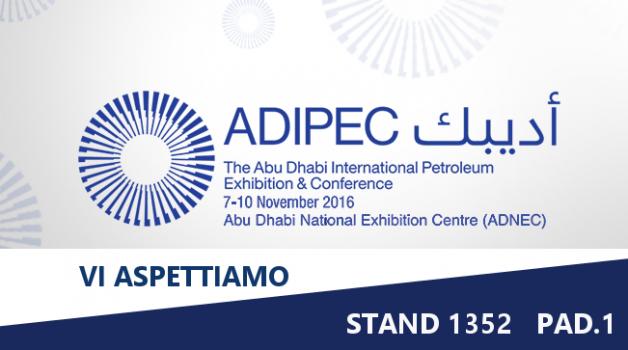 """7-10 novembre """"ADIPEC 2016"""": non mancare!"""